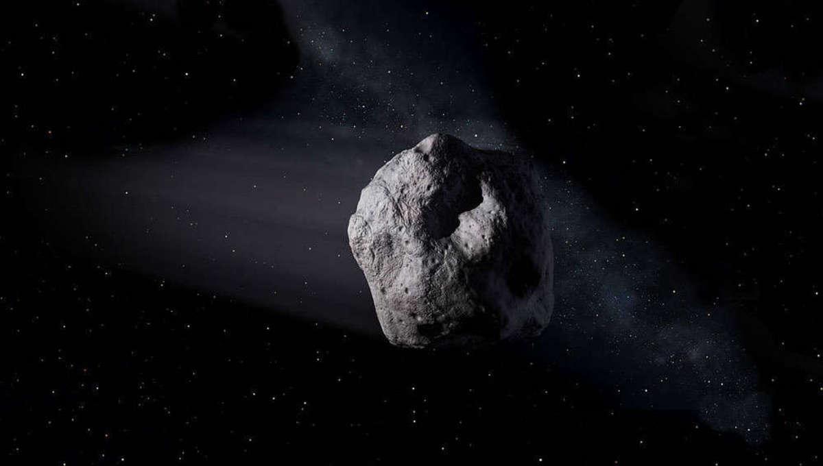 NASA image of a near-Earth asteroid