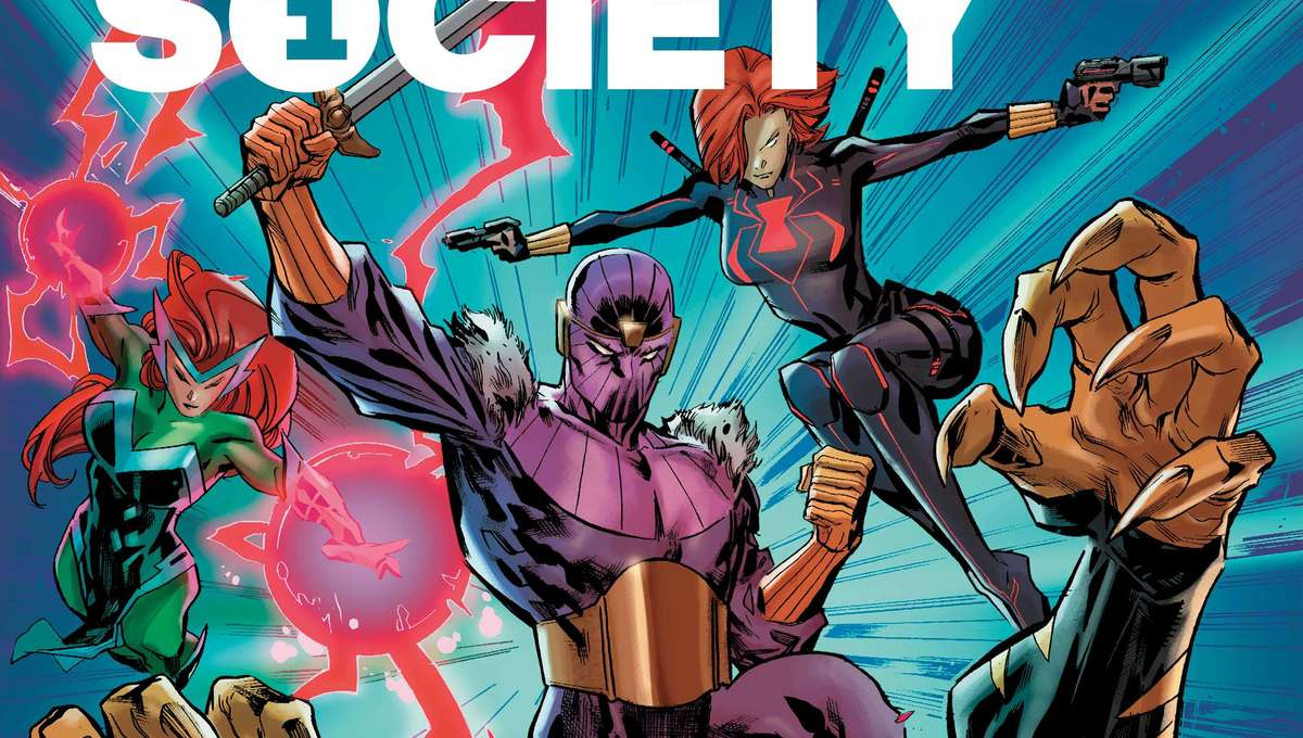 Heroes Reborn Siege Society cover