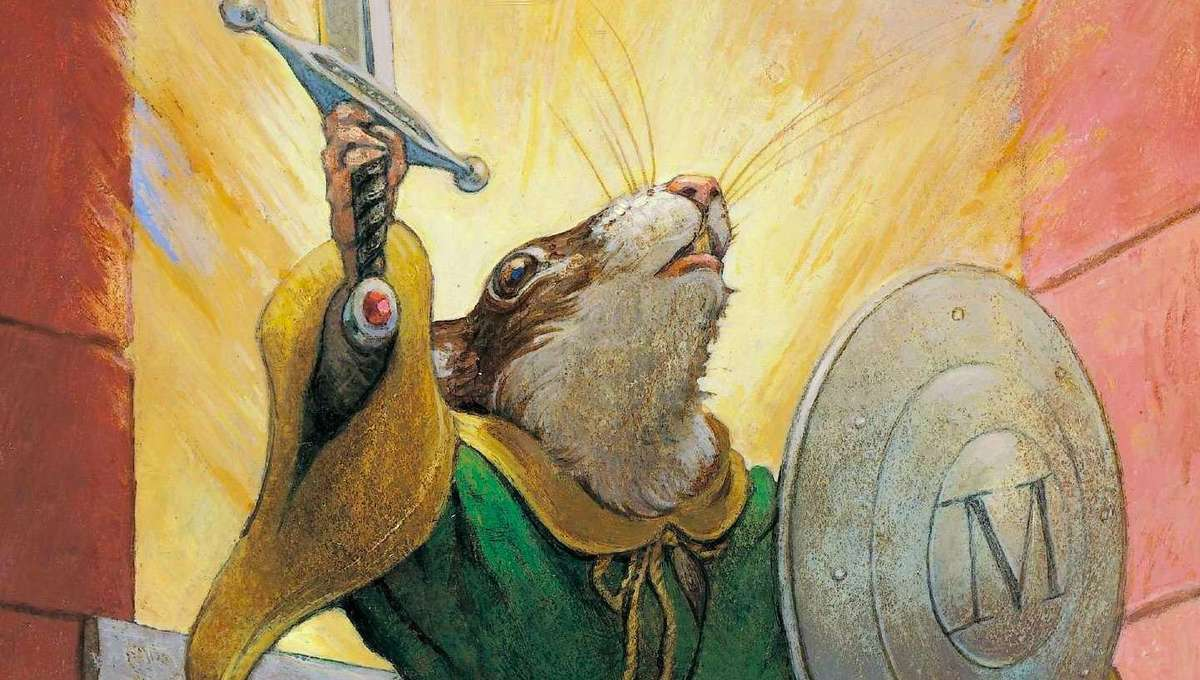 Redwall Book 1 cover