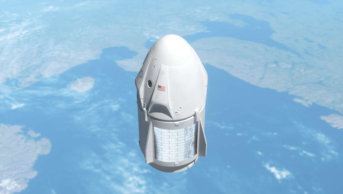 SpaceX Dragon Getty