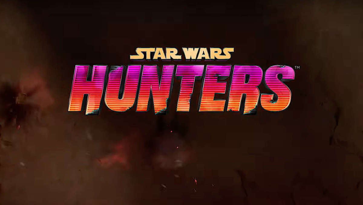 Star Wars Hunters game logo for Nintendo Switch
