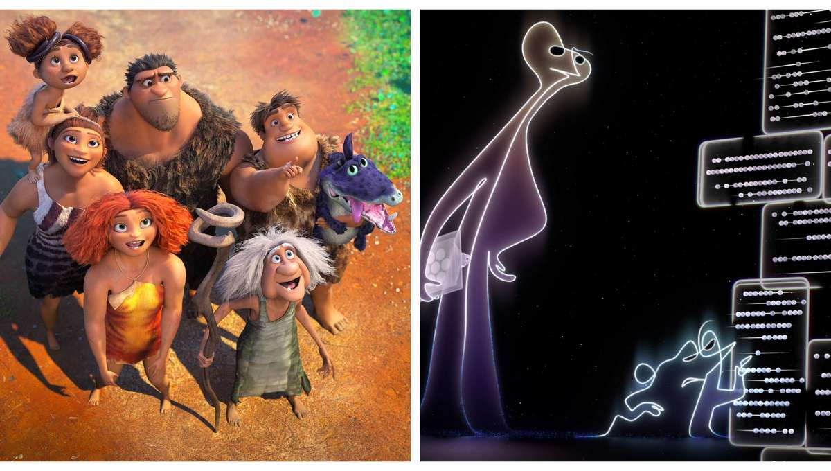 The Croods 2 & Soul