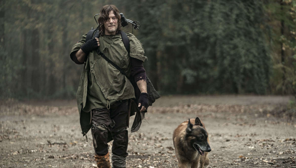 The Walking Dead Daryl and his dog