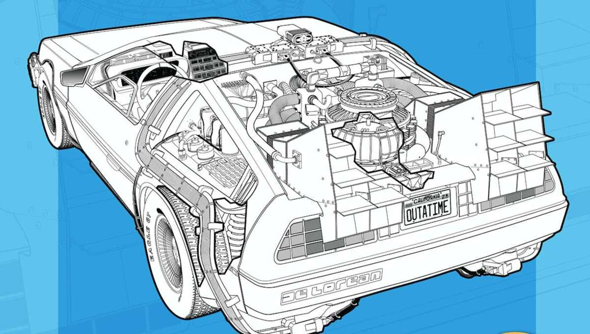 Back To The Future: DeLorean Time Machine: Doc Brown's Owners' Workshop Manual