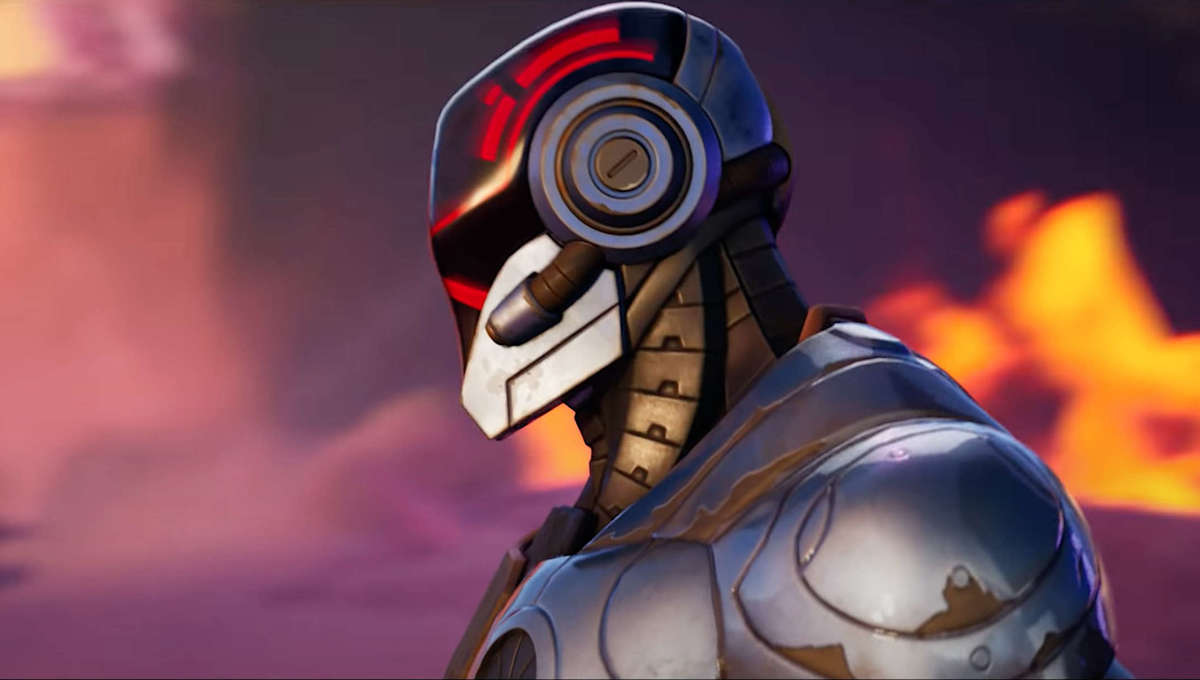 A scene from the Fortnite Chapter 2 Season 6 cinematic trailer