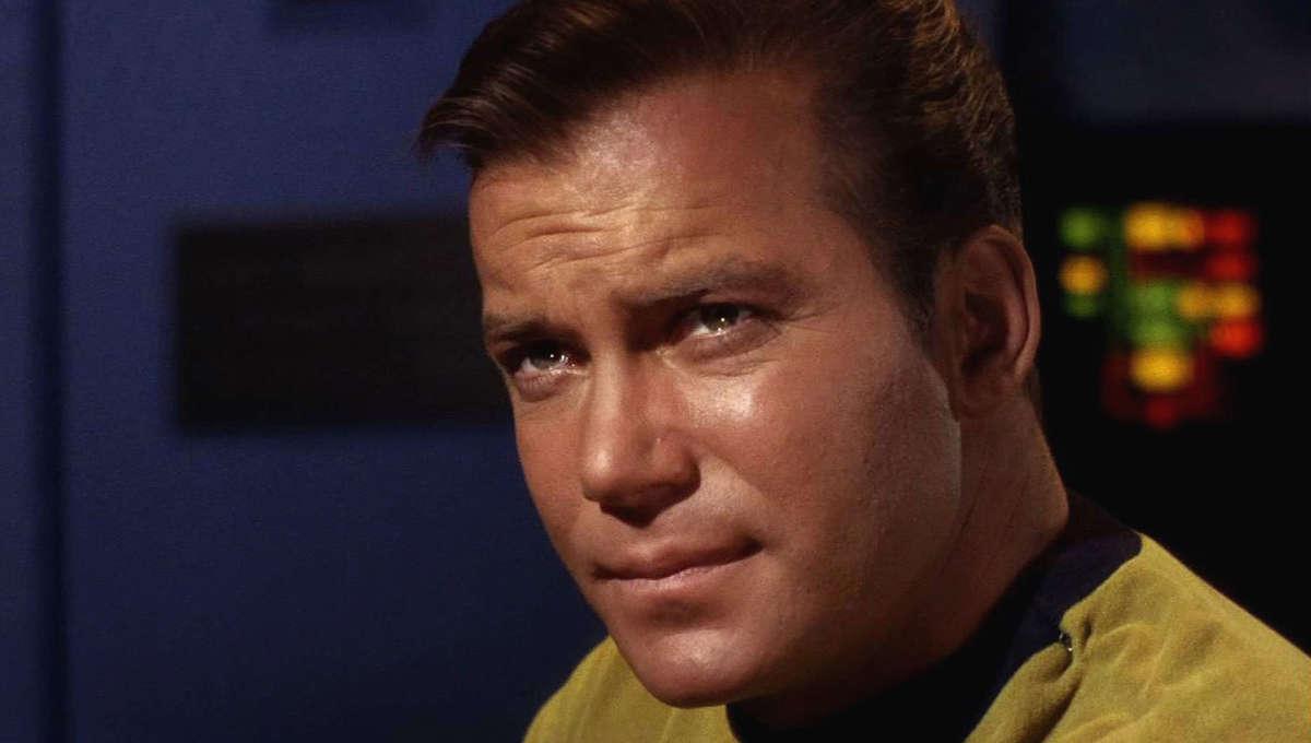 William Shatner as James T. Kirk