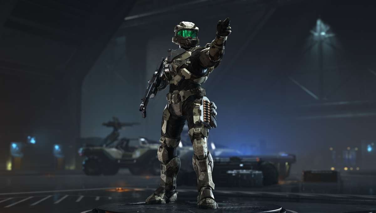 Character model from Halo Infinite