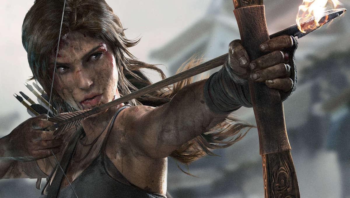 Lara Croft in Tomb Raider