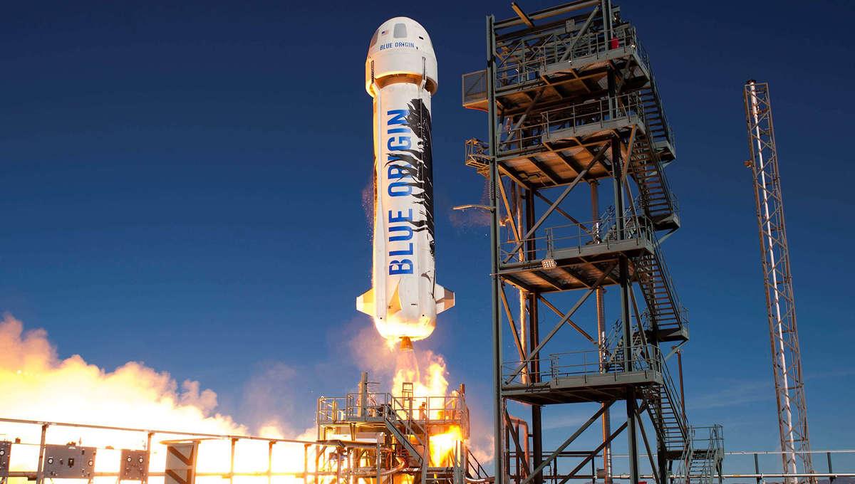 NASA Blue Origin