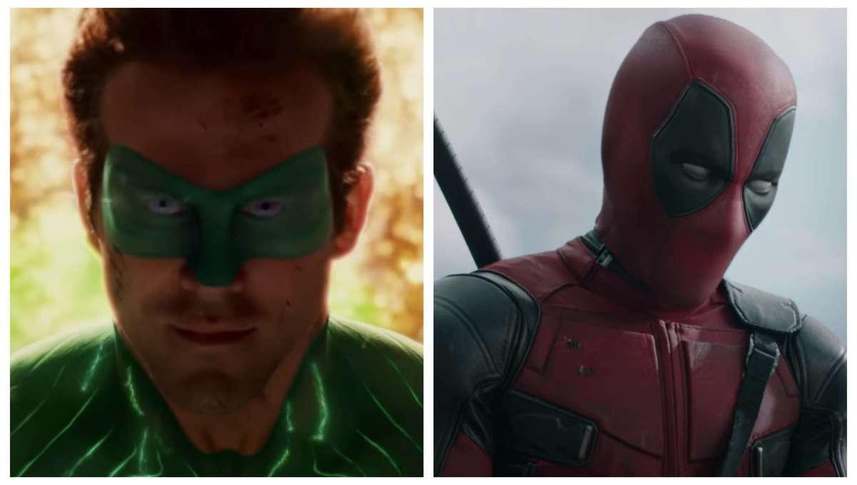 Ryan Reynolds Green Lantern & Deadpool