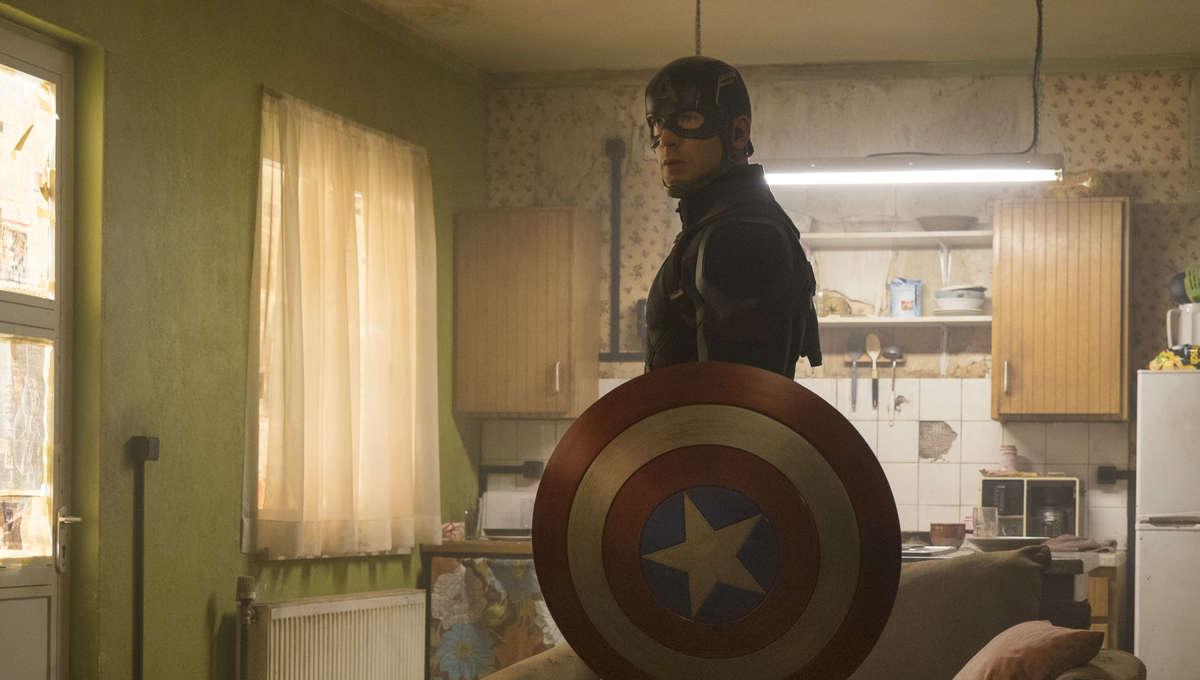 Captain America in Captain America Civil War