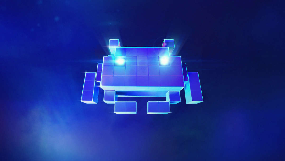Space Invaders' Square Enix collaboration