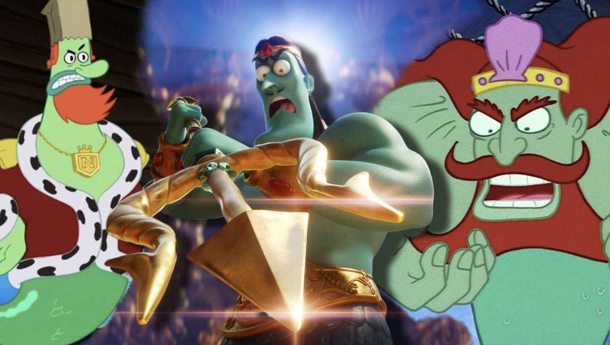 SpongeBob King Neptune