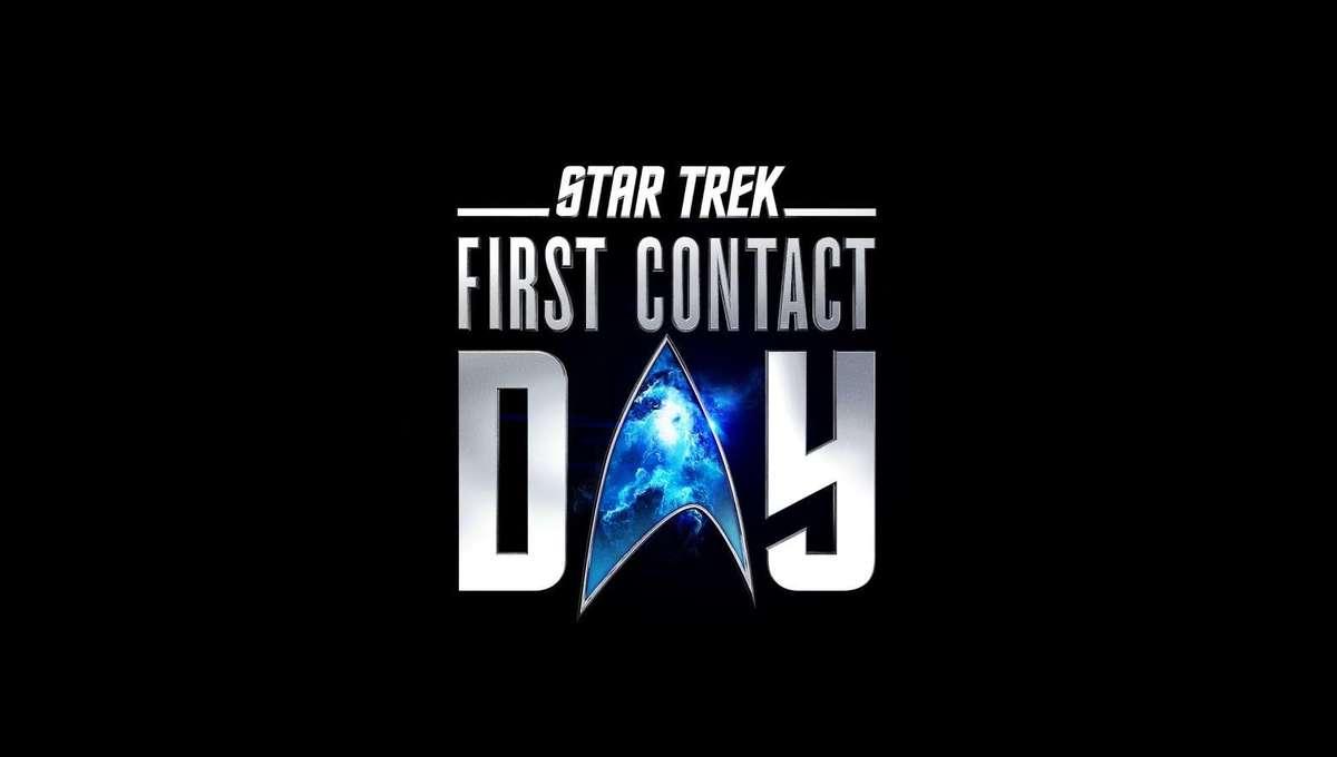 Star Trek First Contact Day logo 2021