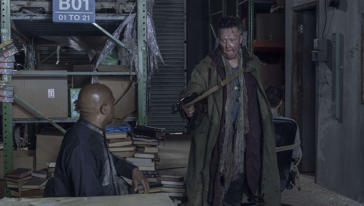 The Walking Dead Robert patrick