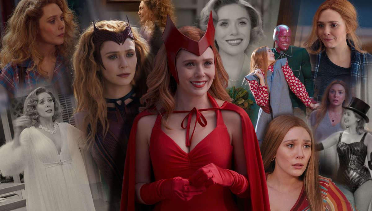 WandaVision Wanda's Costumes Outfits