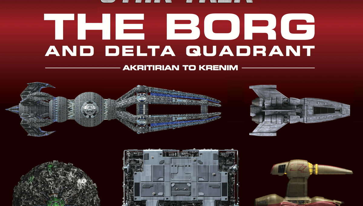 Star: Trek: The Borg and the Delta Quadrant Cover