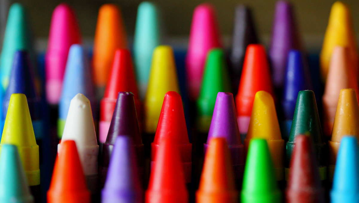 Crayons via Getty Images