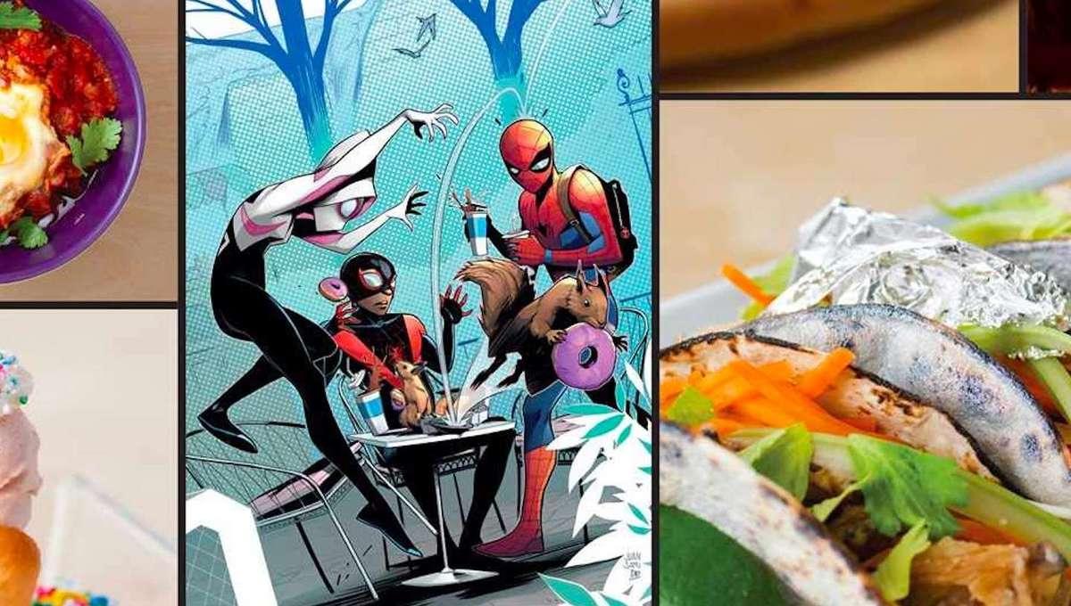 Eat the Marvel Universe Marvel cookbook