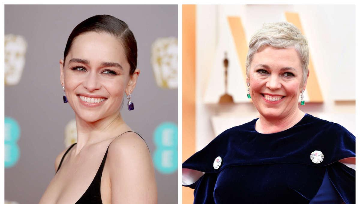 Emilia Clarke & Olivia Colman