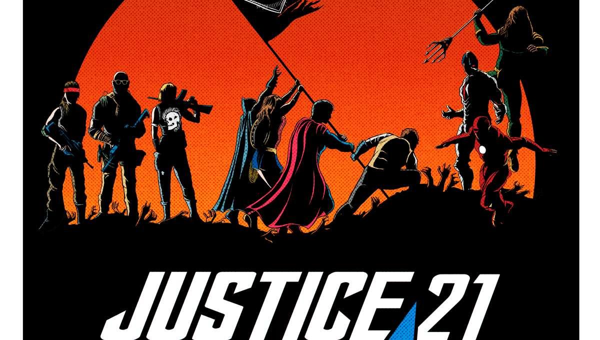 Justice Con 2021 Poster