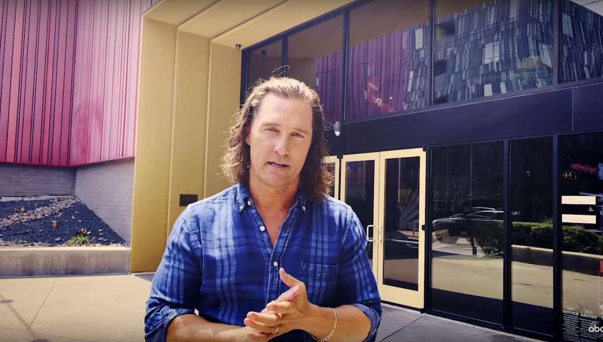 Matthew McConaughey PSA