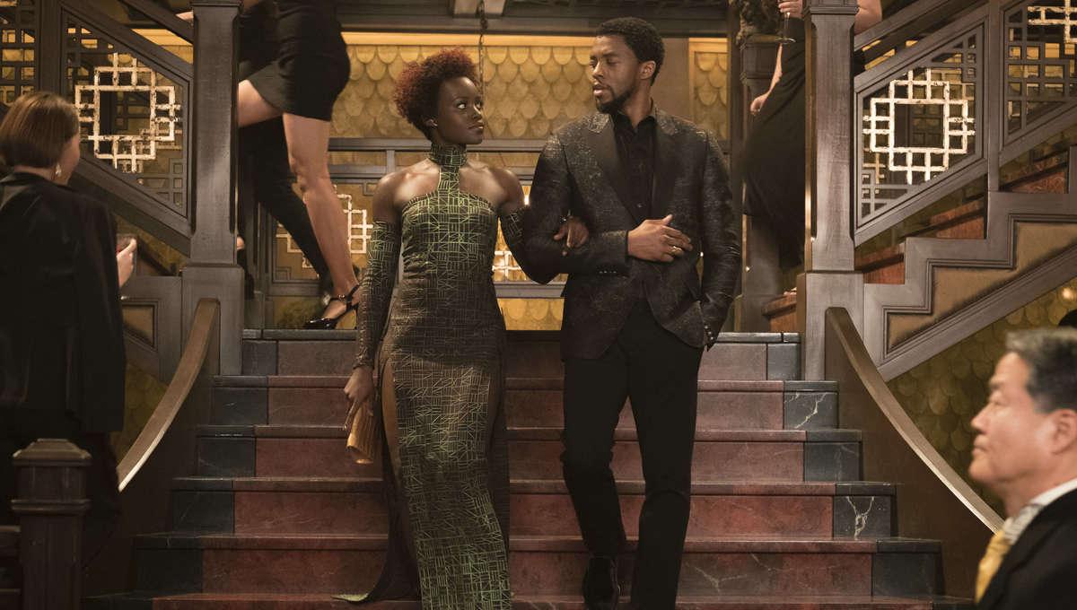 Lupita Nyong'o & Chadwick Boseman | Black Panther
