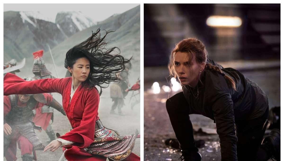 Mulan & Black Widow