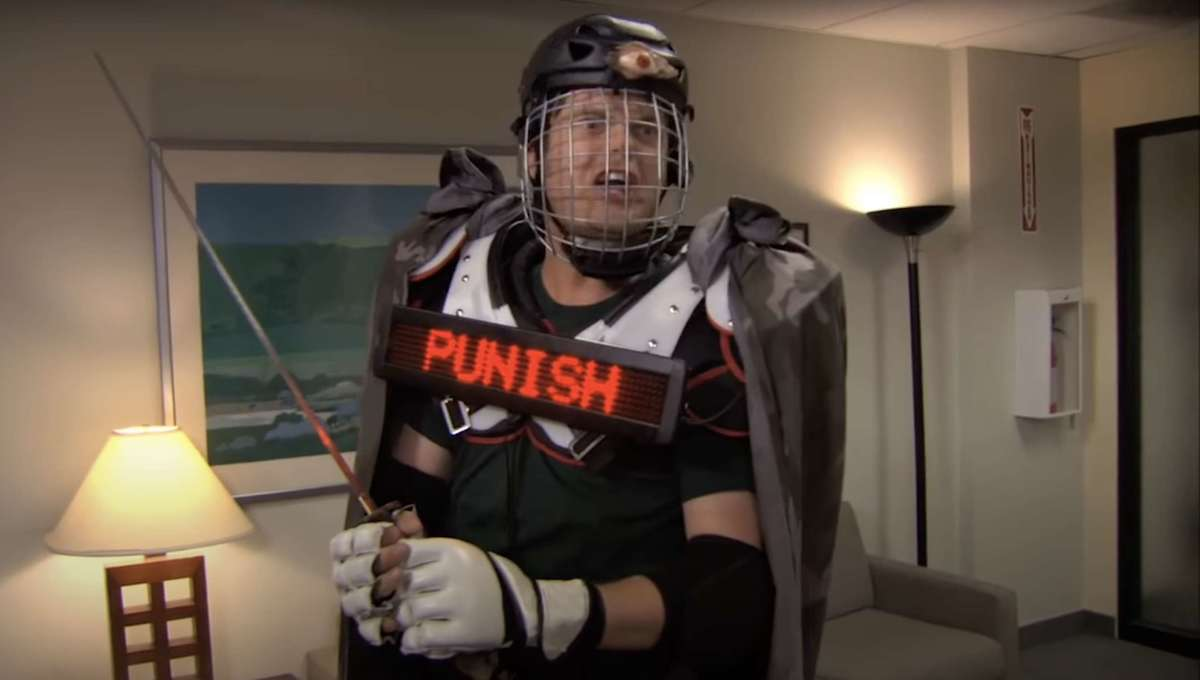 Recyclops The Office Punish