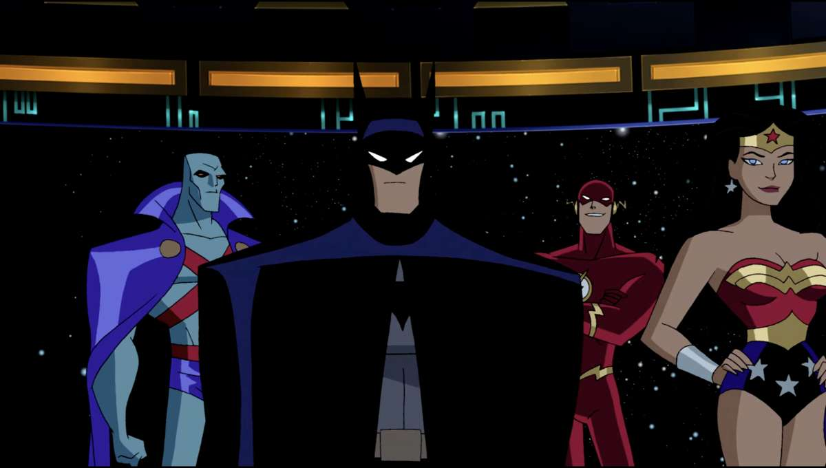 Screenshot from Justice League Unlimited