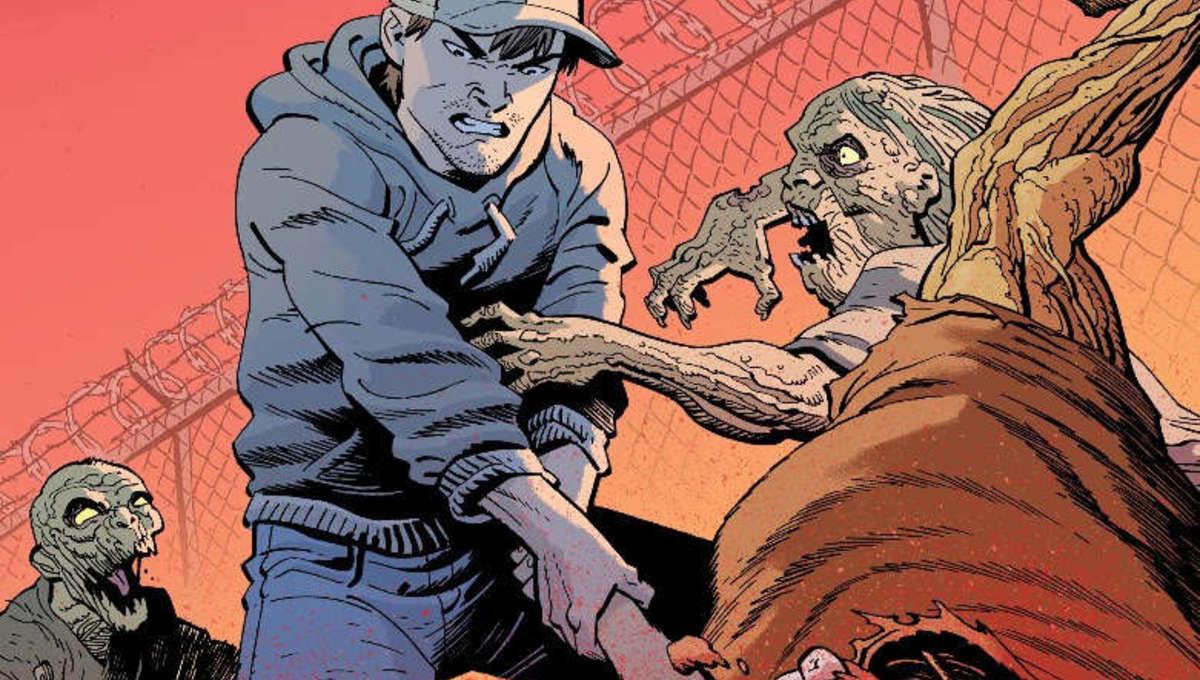 Walking Dead Deluxe 14 AAPI Variant