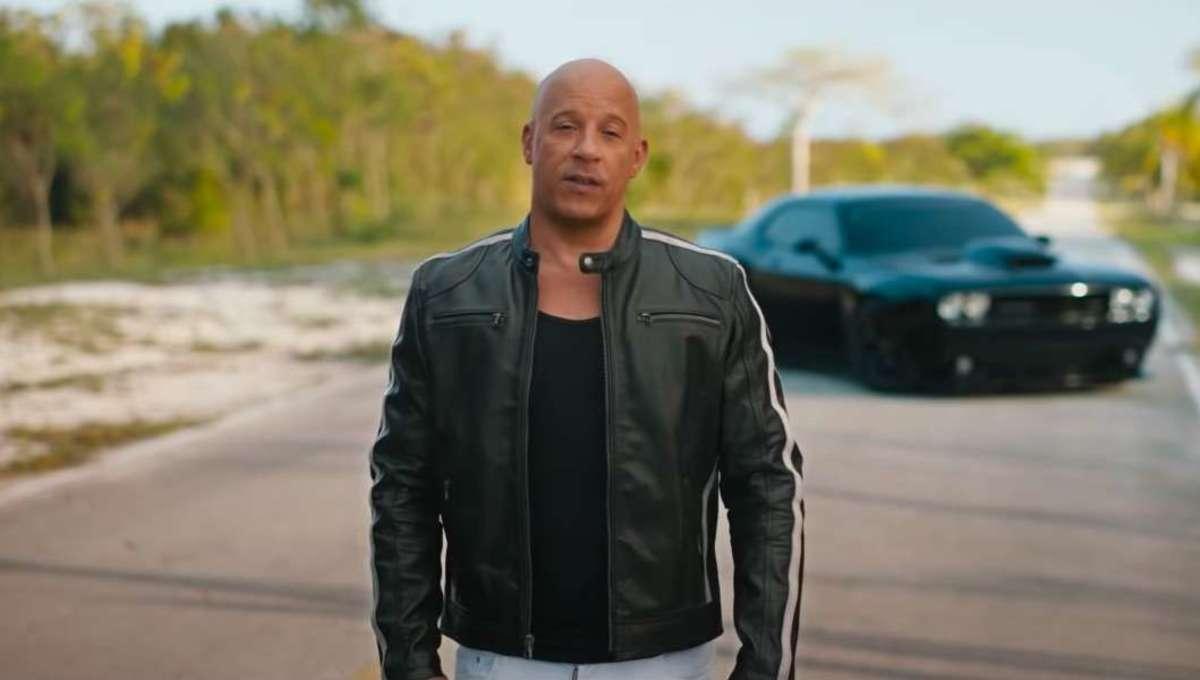 Vin Diesel F9 welcome back