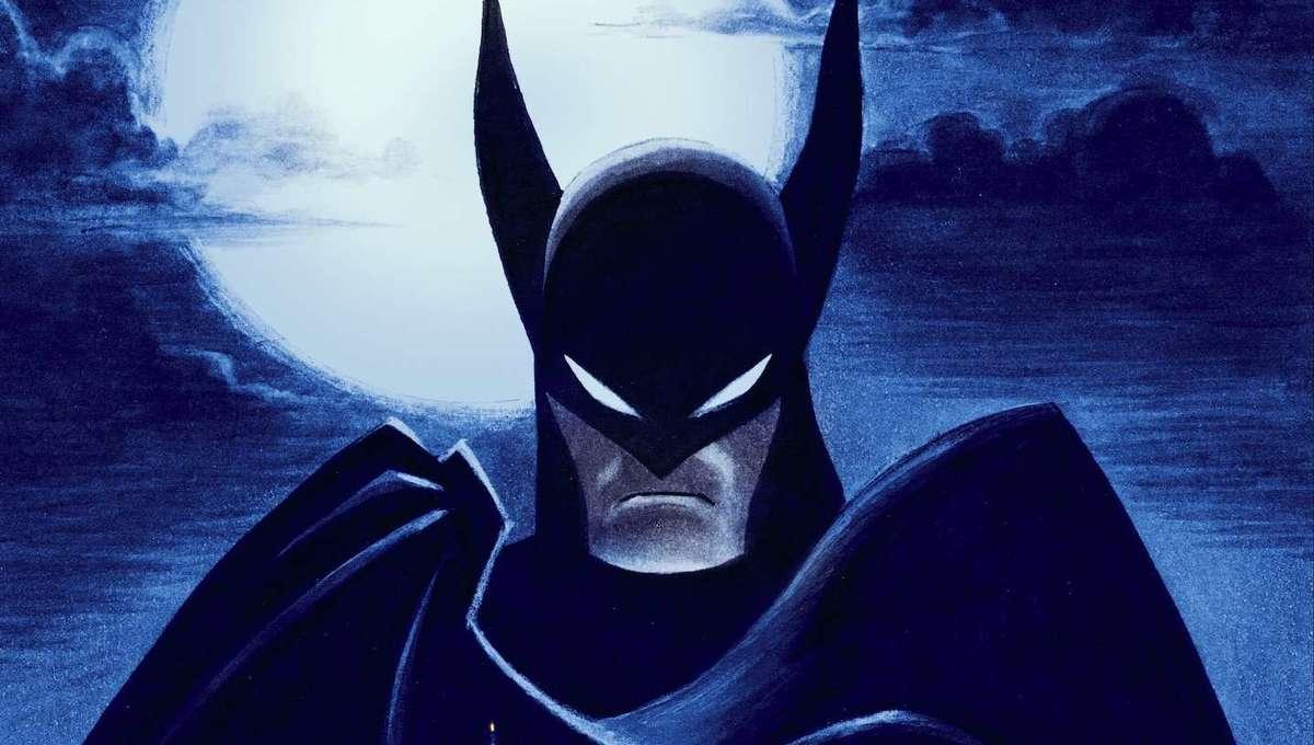 Batman Caped Crusader key art hero