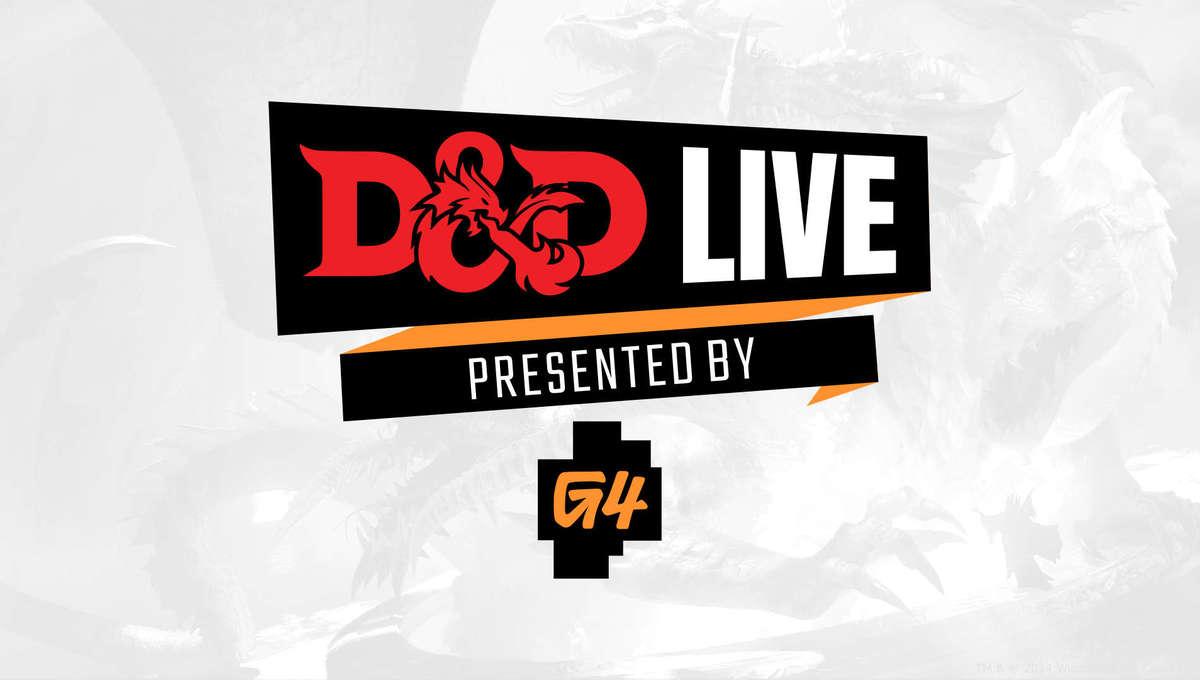 D&D Live 2021 logo