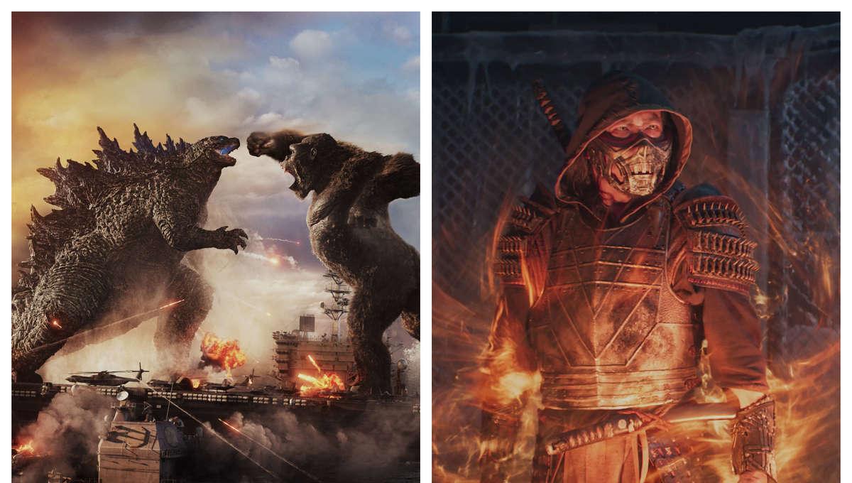 Godzilla vs Kong & Mortal Kombat