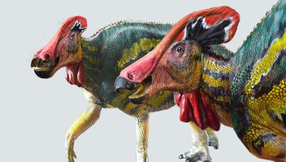 hadrosaur hero