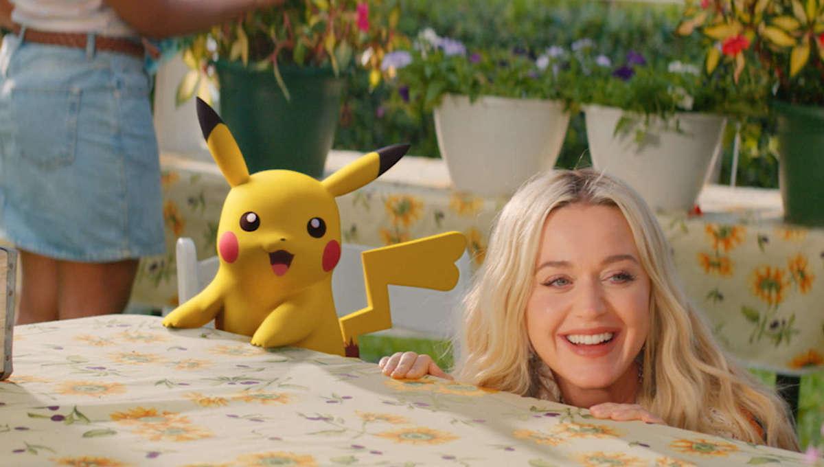 Katy Perry Pokemon music video
