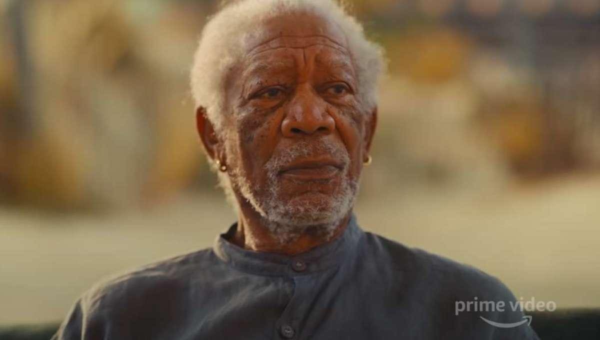 Morgan Freeman Solos trailer hero