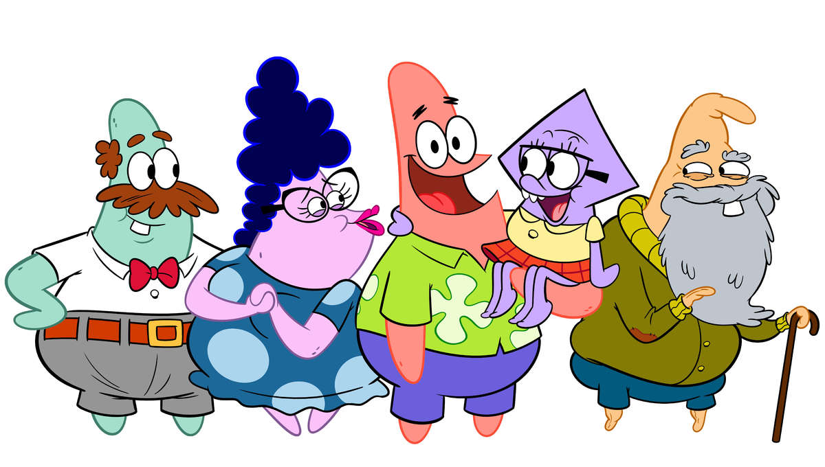 The Patrick Star Show family