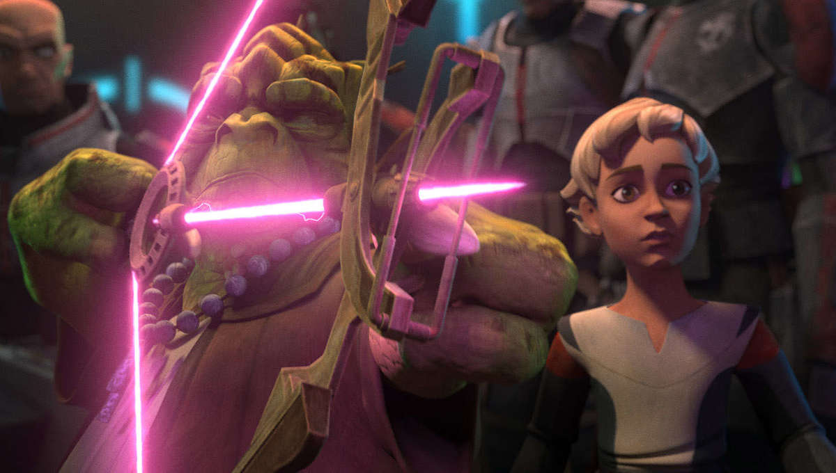 Star Wars: The Bad Batch (Cid and Omega)