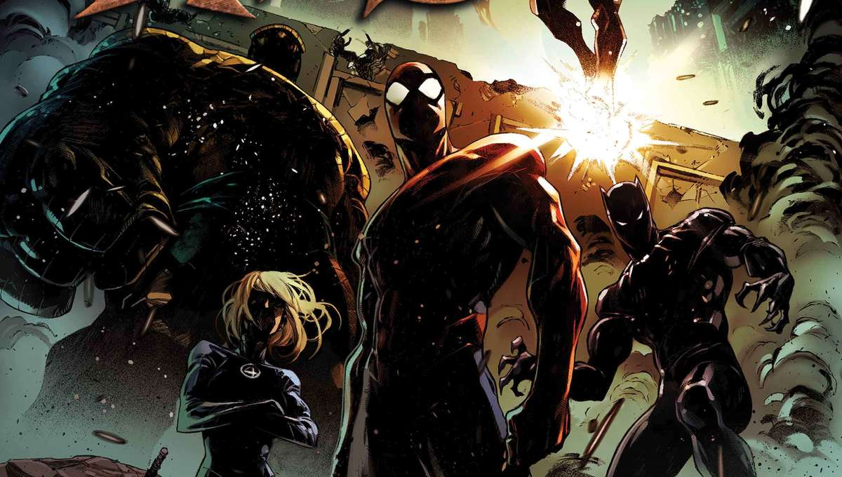 Marvel Dark Ages cover