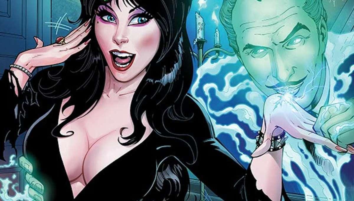 Elvira Meets Vincent Price