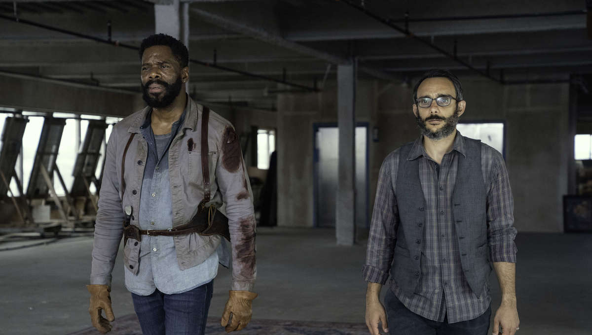 Fear the Walking Dead Colman Domingo and Omid Abtahi