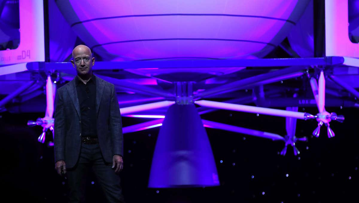 Getty Jeff Bezon Blue Origin