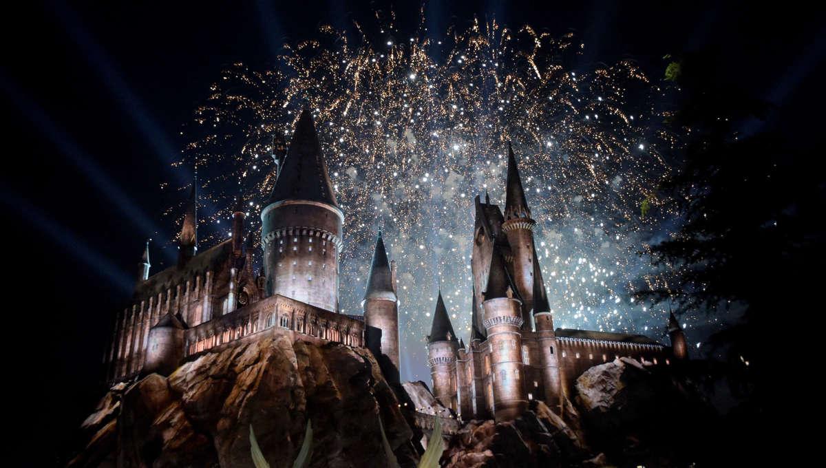 Harry Potter - Hogwarts fireworks