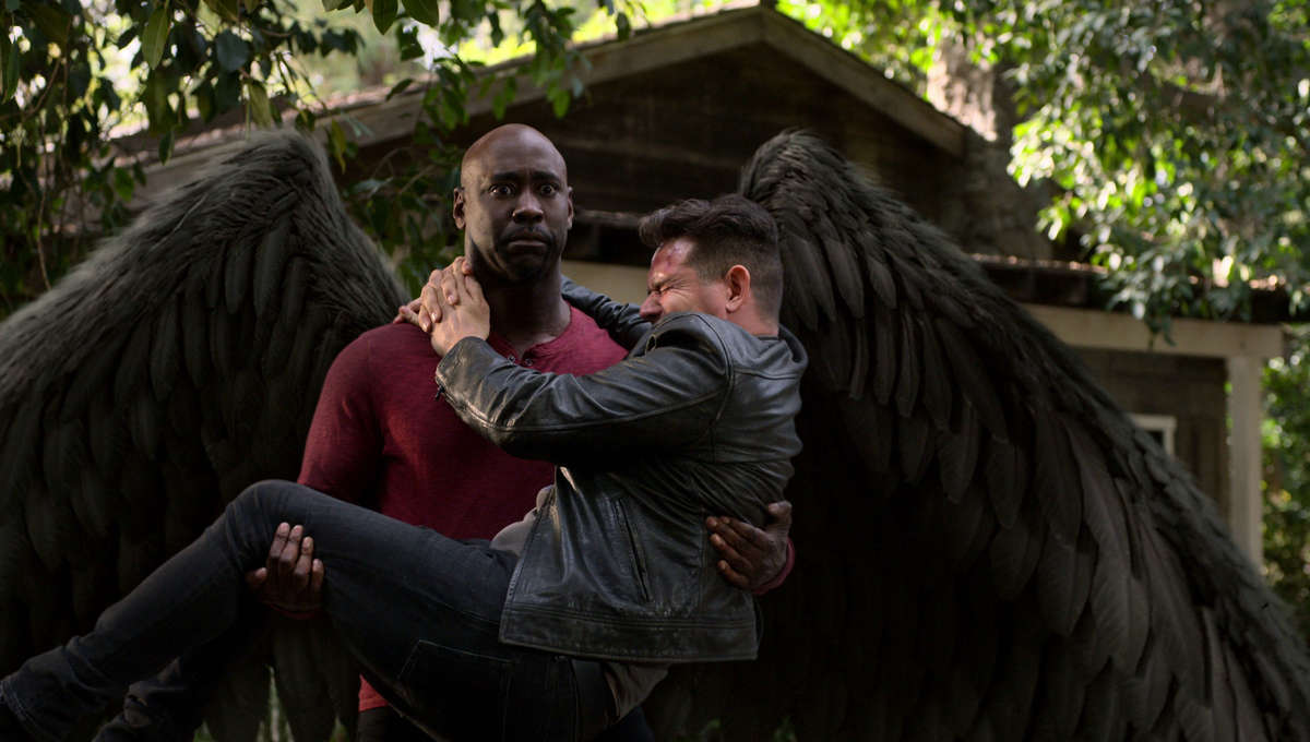 Lucifer Amenadiel and Dan