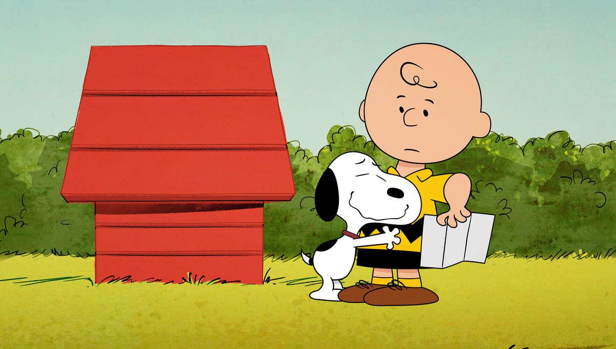 Snoopy Charlie Brown