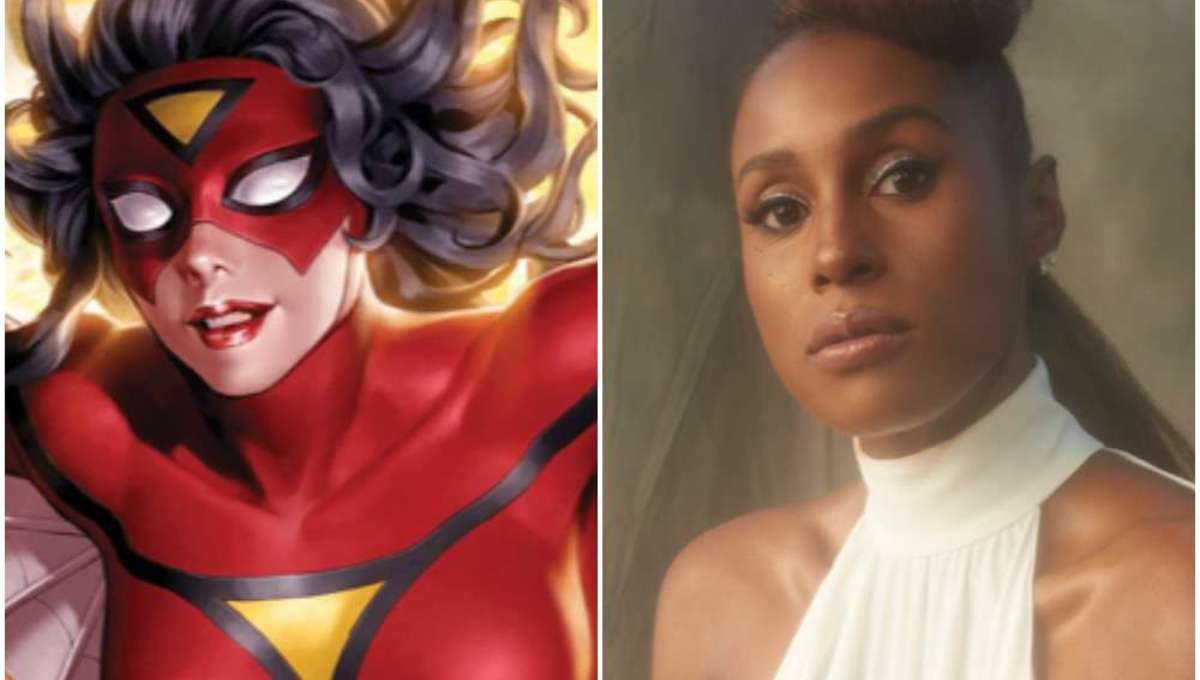 Spider Woman and Issa Rae