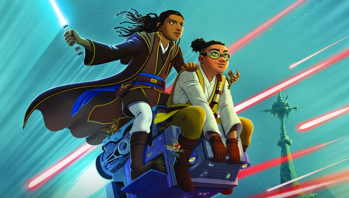 Star Wars: The High Republic: Race to Crashpoint Tower Book Cover