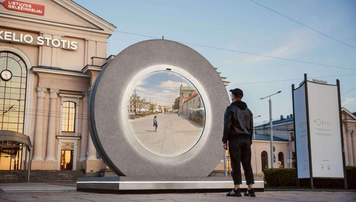 The PORTAL project Portal in Vilnius
